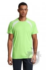 Camisetas Sols Match color Apple Green :: Ref: 280