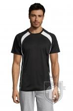 Camisetas Sols Match color Black :: Ref: 312