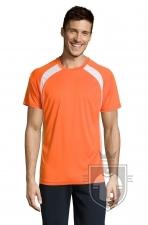 Camisetas Sols Match color Orange :: Ref: 400