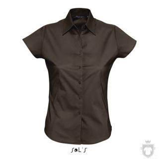 Camisas Sols Excess W color Dark brown :: Ref: 399