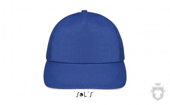 Gorras Sols Sunny color Royal blue - White :: Ref: 913
