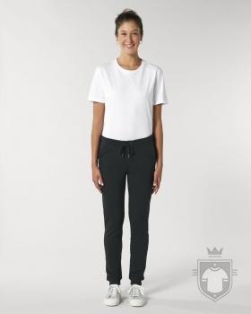 Pantalones Stanley/Stella Traces W color Black :: Ref: C002