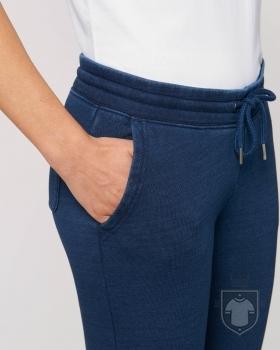 Pantalones Stanley/Stella Tracer Denim color Mid Washed Indigo :: Ref: C551