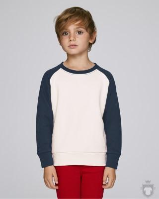 Sudaderas Stanley/Stella Scouts Contrast Kids color Vintage White/Navy :: Ref: C880