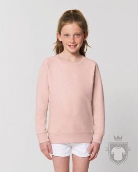 Sudaderas Stanley/Stella Mini Scouter Heather color Cream Heather Pink :: Ref: C682