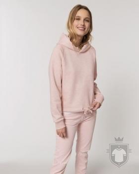 Sudaderas Stanley/Stella Bower Heather color Cream Heather Pink :: Ref: C682