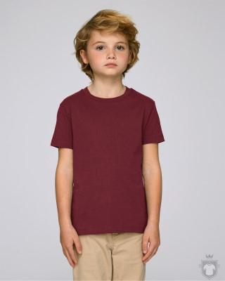 Camisetas Stanley/Stella Paints Kids color Burgundy :: Ref: C244