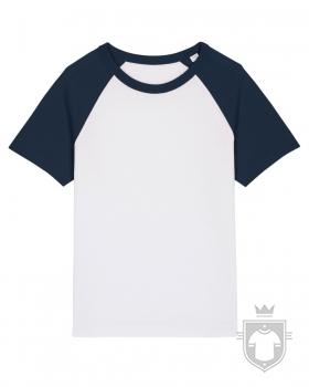 Camisetas Stanley/Stella Mini Catcher color White/French Navy :: Ref: C966
