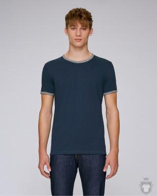 Camisetas Stanley/Stella Holds color Navy/Mid Heather Grey :: Ref: C850