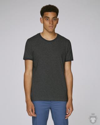 Camisetas Stanley/Stella Holds color Dark Heather Grey/Black :: Ref: C851