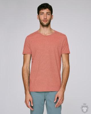 Camisetas Stanley/Stella Roots color Salty Rose/Vintage White :: Ref: C996