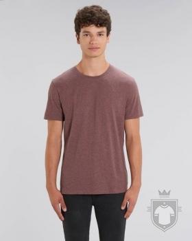 Camisetas Stanley/Stella Creator Special Heather color Black Heather Cranberry :: Ref: C589