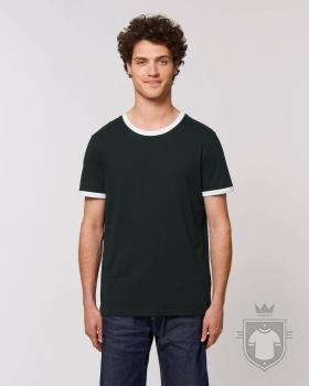 Camisetas Stanley/Stella Ringer color Black/White :: Ref: C896