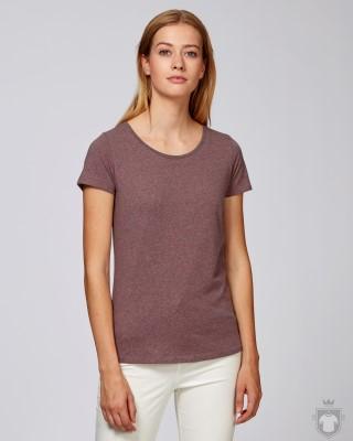 Camisetas Stanley/Stella Loves Special Heather color Black Heather Cranberry :: Ref: C589