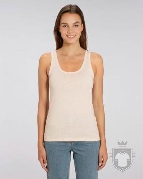 Camisetas Stanley/Stella Dreamer Special Heather color Ecru Neppy Mandarine :: Ref: C695