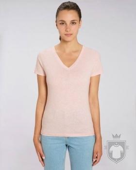 Camisetas Stanley/Stella Evoker Heather color Cream Heather Pink :: Ref: C682