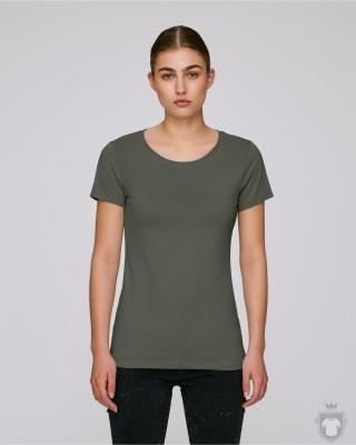 Camisetas Stanley/Stella Wants W color Khaki :: Ref: C223
