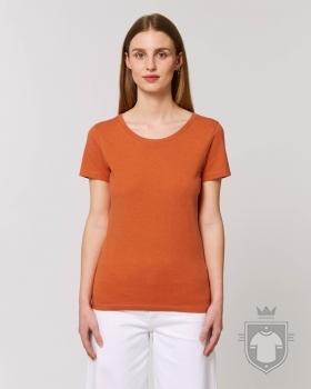 Camisetas Stanley/Stella Expresser Special Heather color Black Heather Orange :: Ref: C594