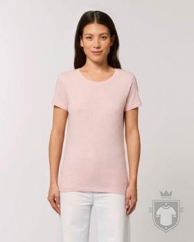 Camisetas Stanley/Stella Expresser Heather color Cream Heather Pink :: Ref: C682