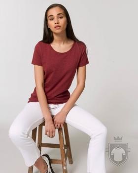 Camisetas Stanley/Stella Expresser Special Heather color Heather Neppy Burgundy :: Ref: C687