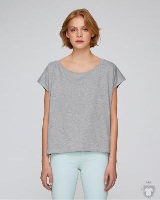 Camisetas Stanley/Stella Flies Heather color Heather Grey :: Ref: C250