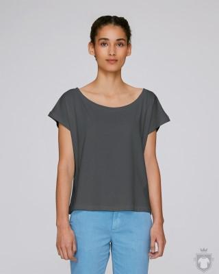 Camisetas Stanley/Stella Flies color Anthracite :: Ref: C253