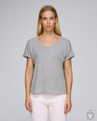 Camisetas Stanley/Stella Lazes W SH color Heather Grey Slub :: Ref: C255