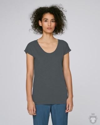 Camisetas Stanley/Stella Invents Slub W color Anthracite :: Ref: C253