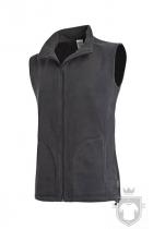 Chalecos Stedman Active Fleece color Grey Steel :: Ref: GRS