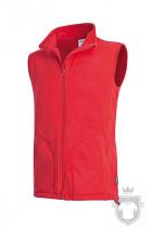Chalecos Stedman Active Fleece color Scarlet Red :: Ref: SRE