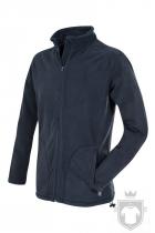Polares Stedman Active Fleece Jacket color Blue Midnight :: Ref: BLM