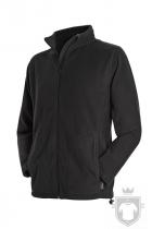 Polares Stedman Active Fleece Jacket color Black Opal :: Ref: BLO