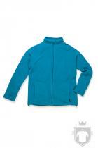 Polares Stedman Active Fleece Jacket color Hawaii Blue :: Ref: HWB