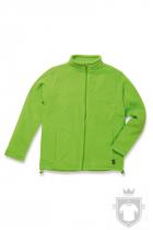Polares Stedman Active Fleece Jacket color Kiwi Green :: Ref: KIW