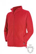 Polares Stedman Active Fleece Jacket color Scarlet Red :: Ref: SRE