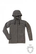Polares Stedman Active Power Fleece Jacket color Anthra Heather :: Ref: ANH