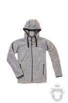 Polares Stedman Active Power Fleece Jacket color Grey Heather :: Ref: GYH