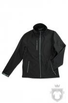 Softshell Stedman Active Softest Shell Jacket color Black Opal :: Ref: BLO