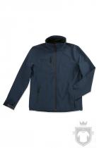 Softshell Stedman Active Softest Shell Jacket color Marina Blue :: Ref: MAB