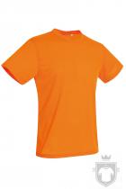 Camisetas Stedman Active Cotton Touch color Cyber Orange :: Ref: COR
