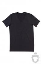 Camisetas Stedman James Organic V color Black Opal :: Ref: BLO