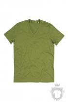Camisetas Stedman James Organic V color  Earth Green :: Ref: EGR