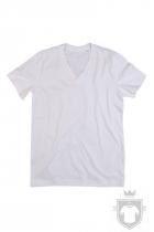 Camisetas Stedman James Organic V color White :: Ref: WHI