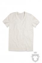 Camisetas Stedman James Organic V color Winter White :: Ref: WWI
