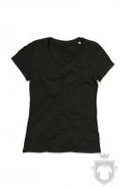 Camisetas Stedman Janet Organic V W color Black Opal :: Ref: BLO