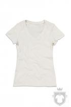 Camisetas Stedman Janet Organic V W color Winter White :: Ref: WWI