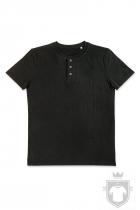 Camisetas Stedman Shawn Henley color Black Opal :: Ref: BLO