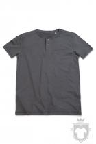 Camisetas Stedman Shawn Henley color Slate Grey :: Ref: SLG