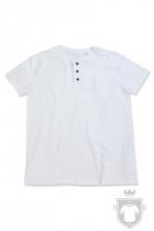 Camisetas Stedman Shawn Henley color White :: Ref: WHI