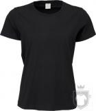 Camisetas Tee Jays Sof Tee W color Black :: Ref: 101